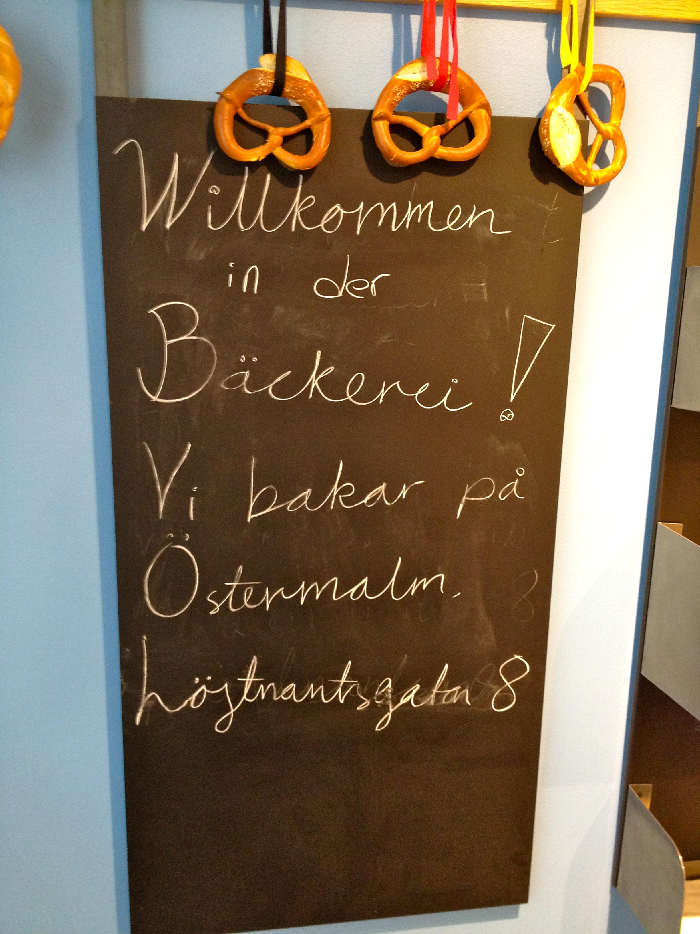 Robbans bästa besöker: Bäckerei