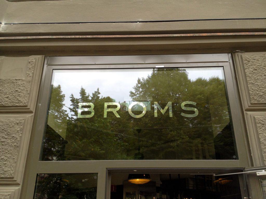 Robbans bästa besöker: Broms