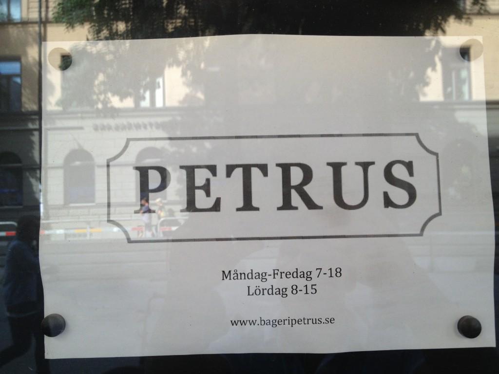 Robbans bästa besöker: Petrus