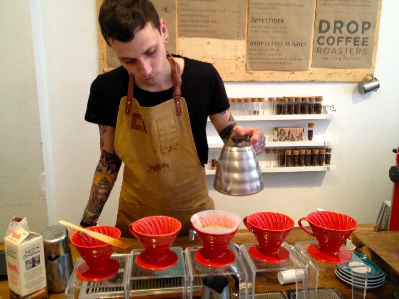Robbans bästa besöker: Drop Coffee