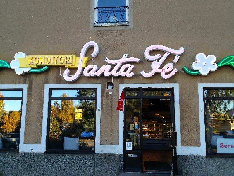 Robbans bästa besöker: Santa Fé Konditori