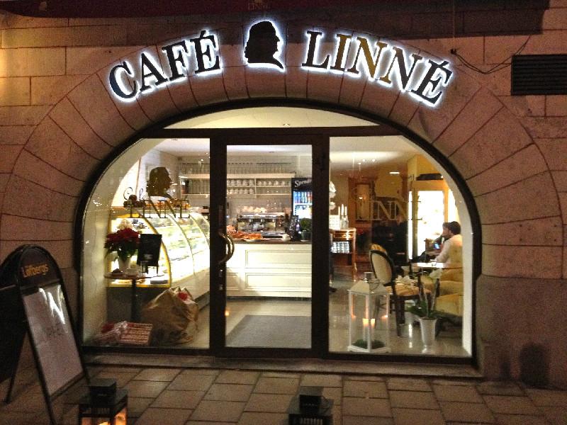 Robbans bästa besöker: Cafè Linnè
