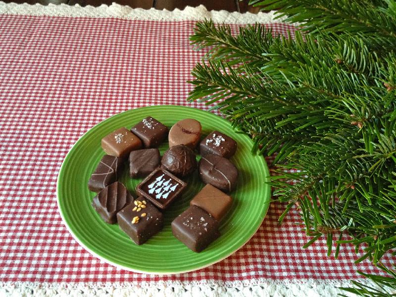 Härliga chokladpraliner