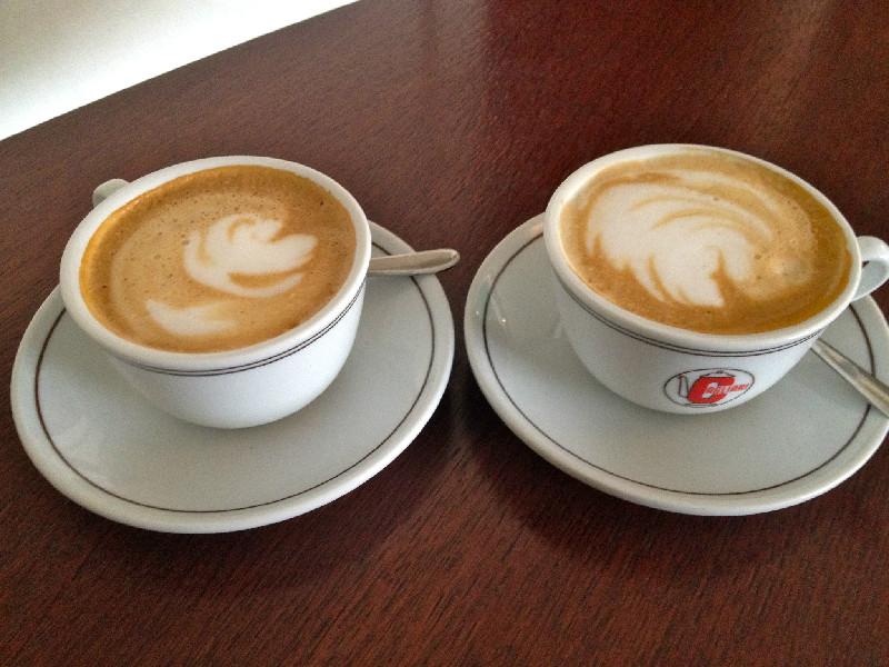 Dagens fika på La bottega del caffè