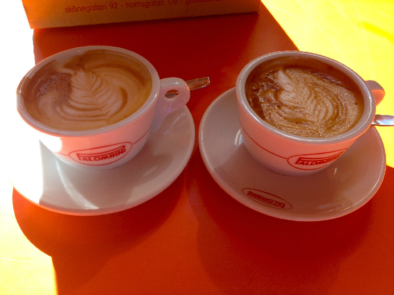 Dagens fika på il Caffé