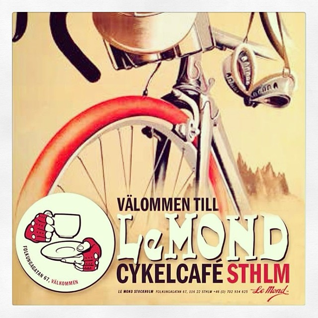 Robbans bästa besöker: Cykelcafé Le Mond
