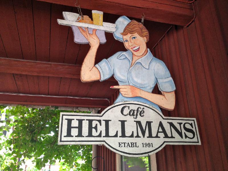 Robbans bästa besöker: Hellmanska Gården