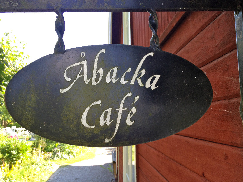 Robbans bästa besöker: Åbacka Café
