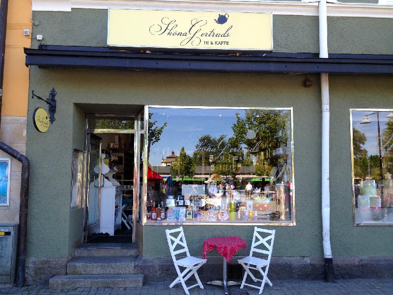 Robbans bästa besöker: Sköna Gertruds Te & Kaffe