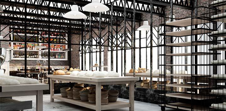 Häftiga bagerier och konditorier i världen: Praktik Bakery Hotel