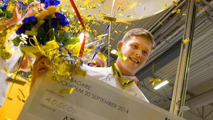 Adam Söderström är Årets Bagare 2014