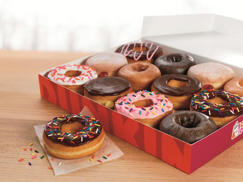 Dunkin' Donuts öppnar i Täby Centrum