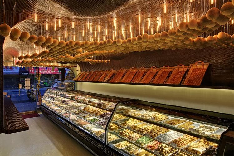 Häftiga bagerier och konditorier i världen: Omonia Next Door