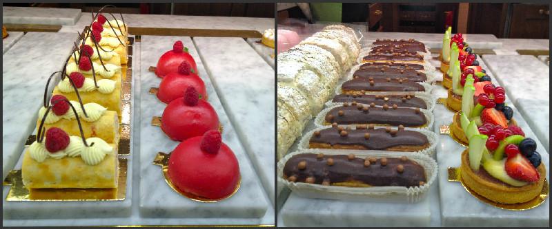 Dagens inköp av lussebullar på Wienercaféet