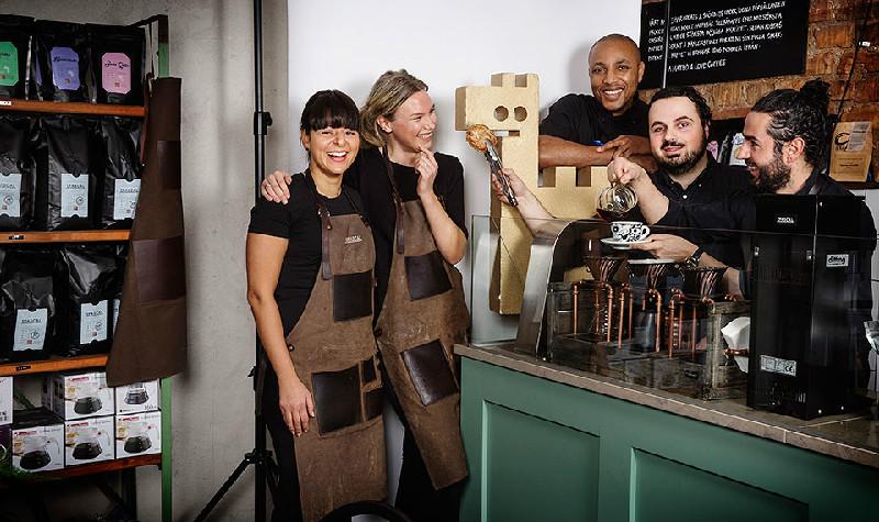 Gulddraken till Cafè Pascal