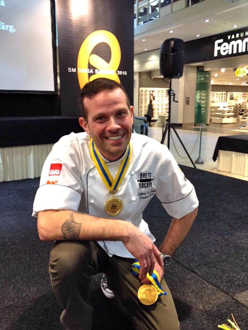 Vinnare Årets bagare 2015