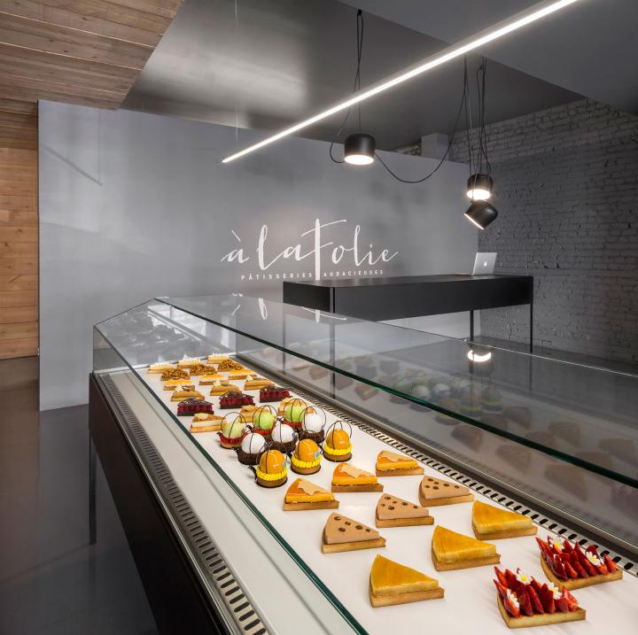 Häftiga bagerier och konditorier i världen: À la Folie Pâtisserie