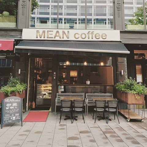 Mean Coffee tackar för sig
