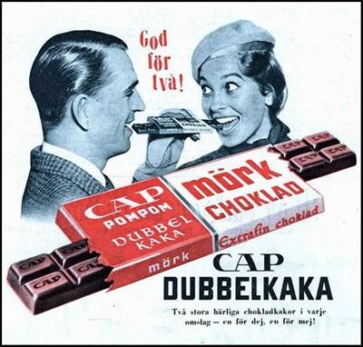 Chokladproduktion från 1965