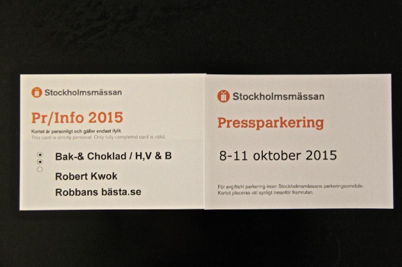 Bak- & Chokladfestivalen 8-11 oktober