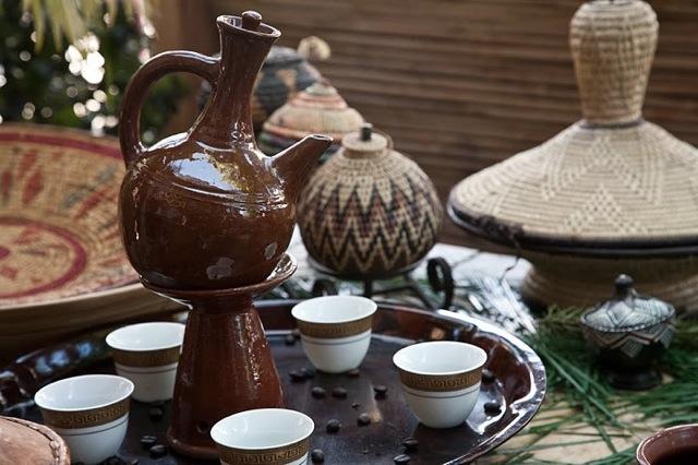 Etiopisk kaffeceremoni