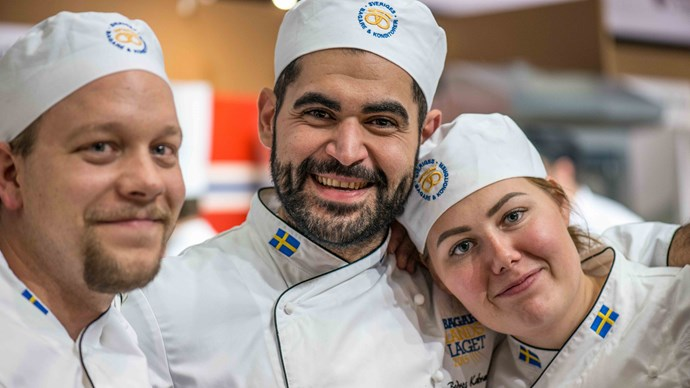 Sverige bäst i Nordic Bakery Cup