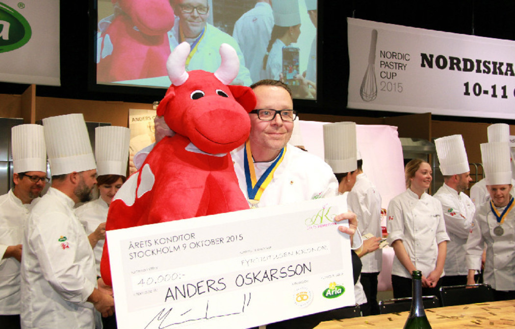 Årets konditor 2015 – Anders Oskarsson, Nilssons konditori