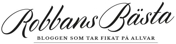 Robbans bästa - Fikabloggen vars syfte är att tipsa om caféer, konditorier, bagerier och kaffebarer samt allt övrigt som hör till den svenska fikakulturen