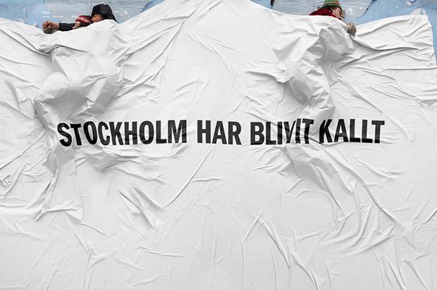 Jullunch för Stockholms hemlösa
