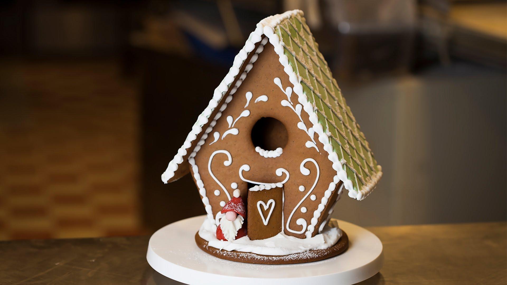 Dekorera pepparkakshus med Moa Brink