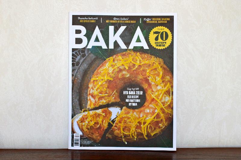Robbans bästa med i Tidningen BAKA