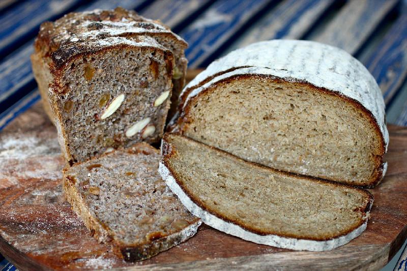 Härligt bröd från Rosendals Trädgård