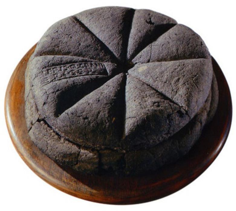 Bröd som det bakades för 2000 år sedan