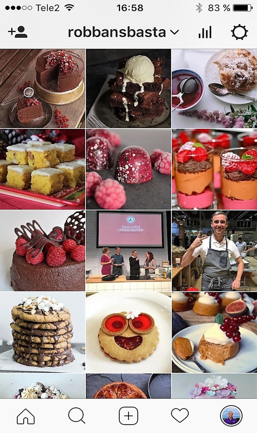 Följ Robbans bästa på Instagram