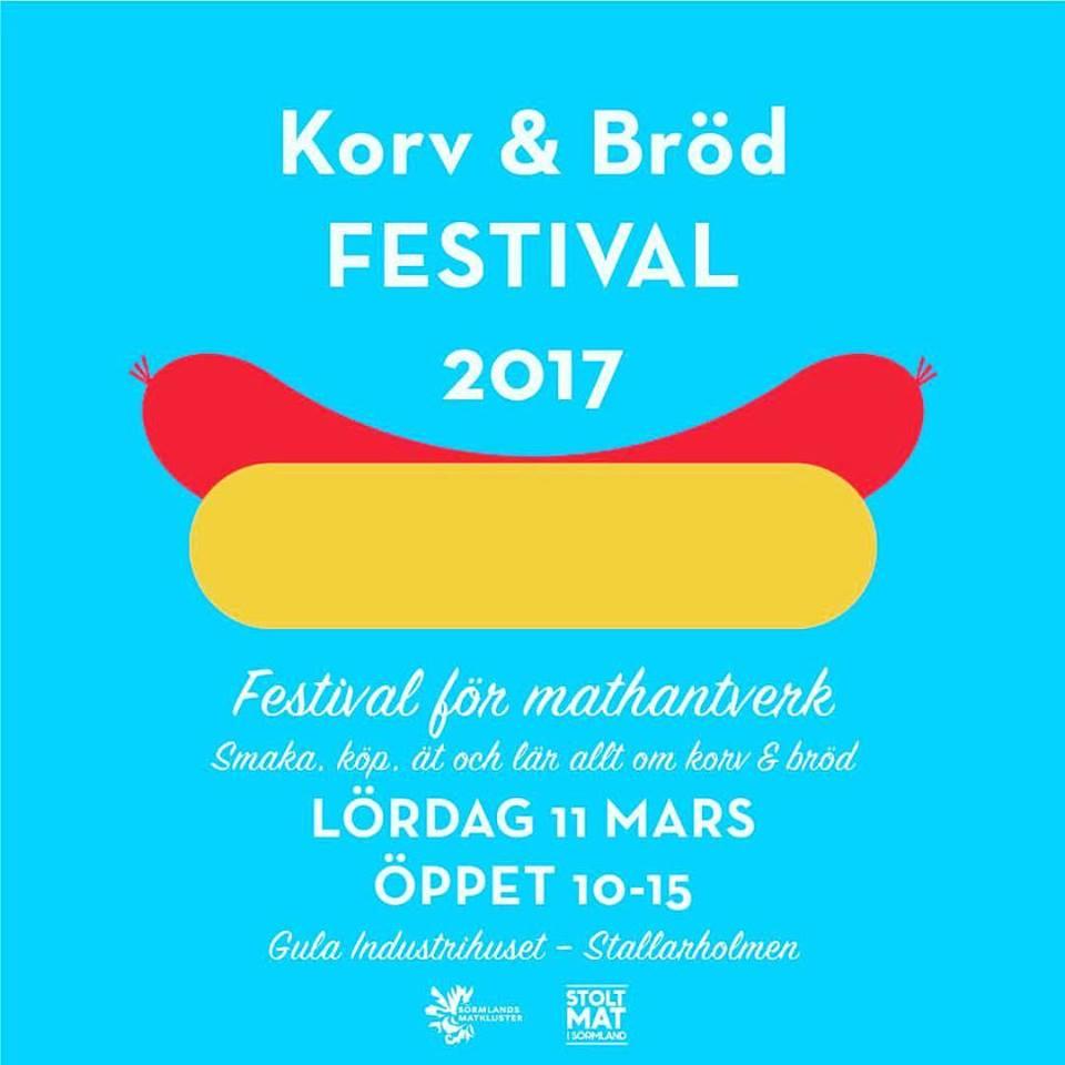 Dags för korv och bröd festival i Stallarholmen