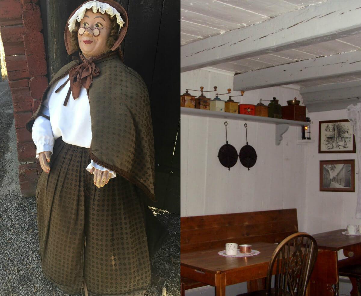 Besök tantens bruna kaffestuga i Sigtuna