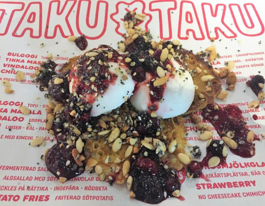 Dagens lunch och fika: Taku Taku