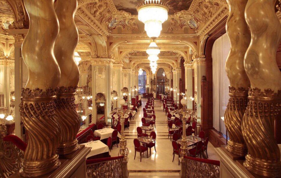 Världens vackraste caféer