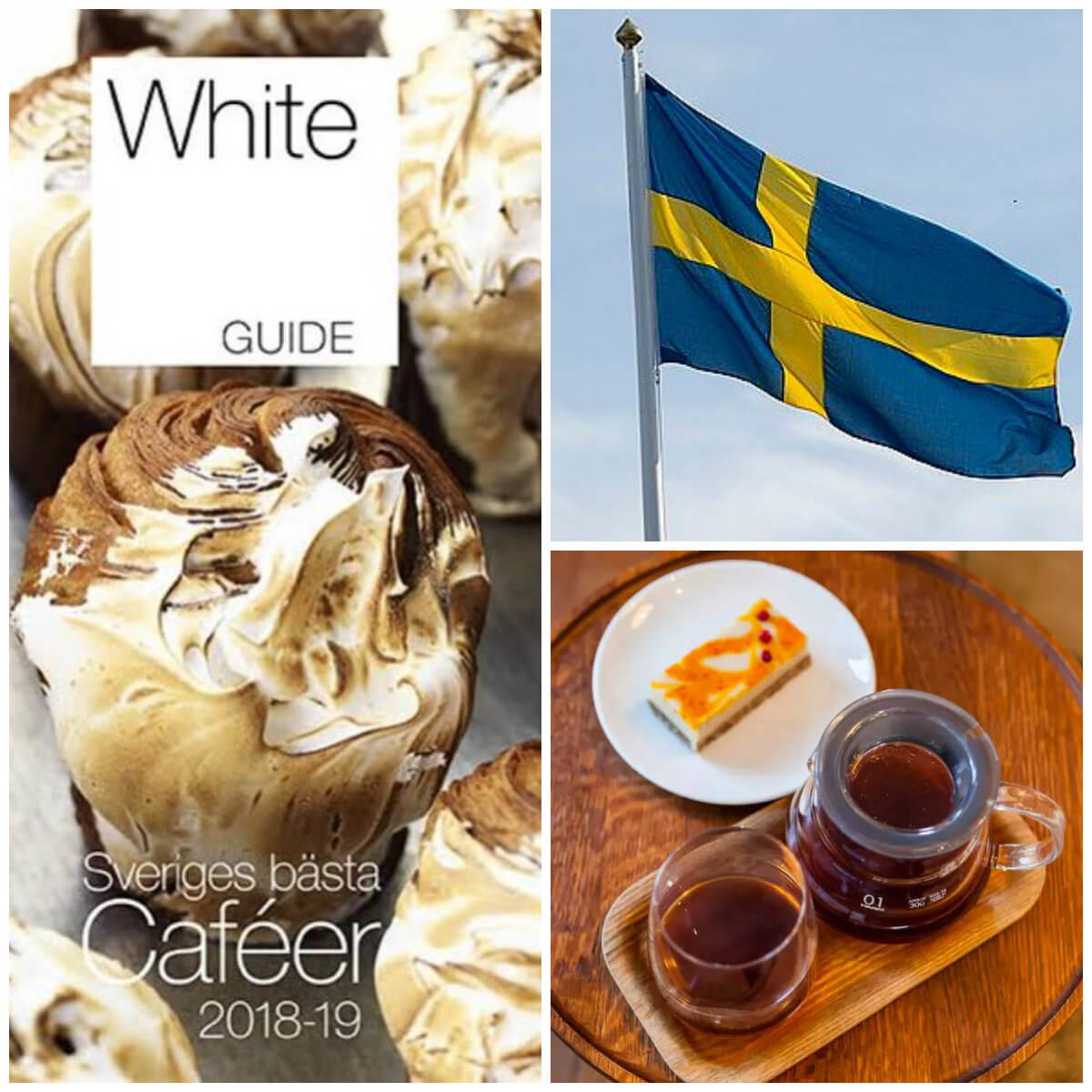 White Guide Café 2018 – Caféer per landskap