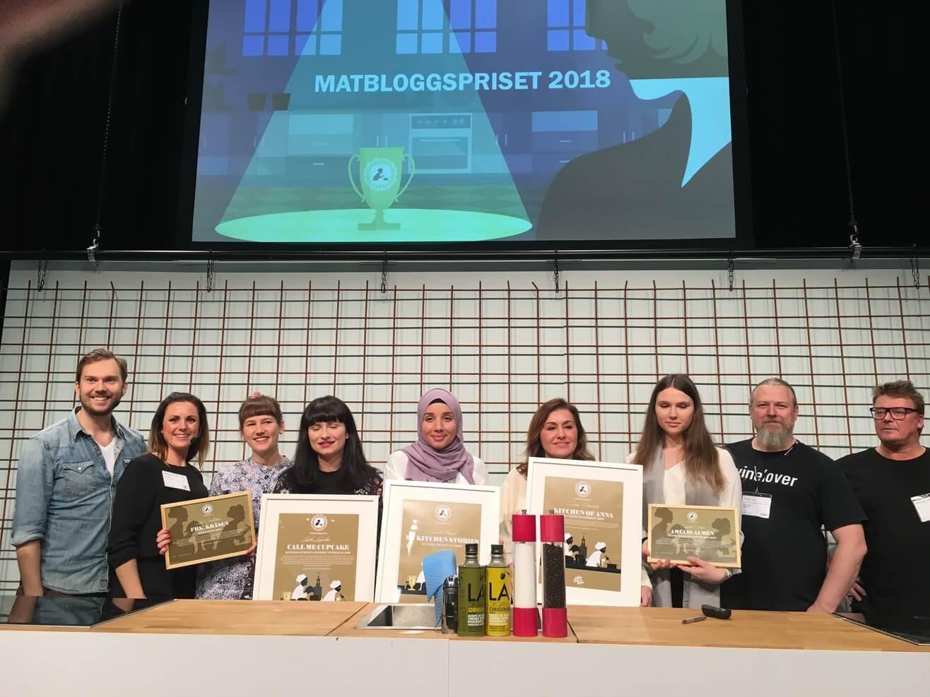 Matbloggspriset 2018 – här är samtliga vinnare